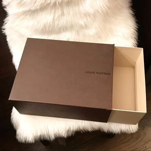 Large Louis Vuitton Box